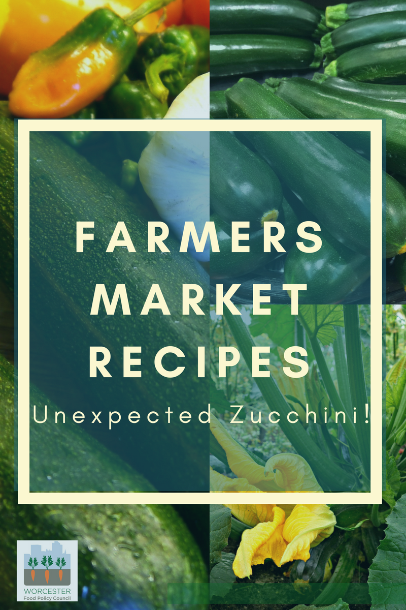 farmers market recipes – zucchini