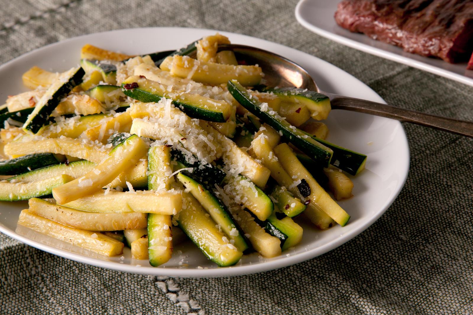 easy sauteed zucchini
