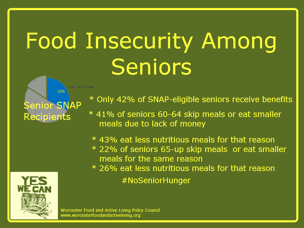 facts about senior hunger