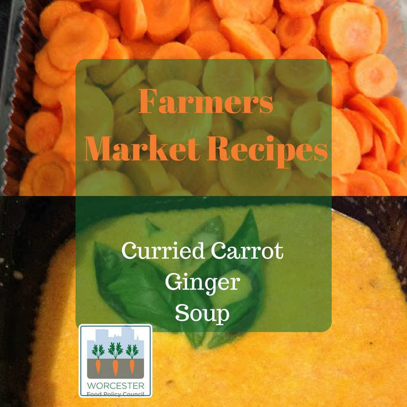 curried carrot ginger soup ssm