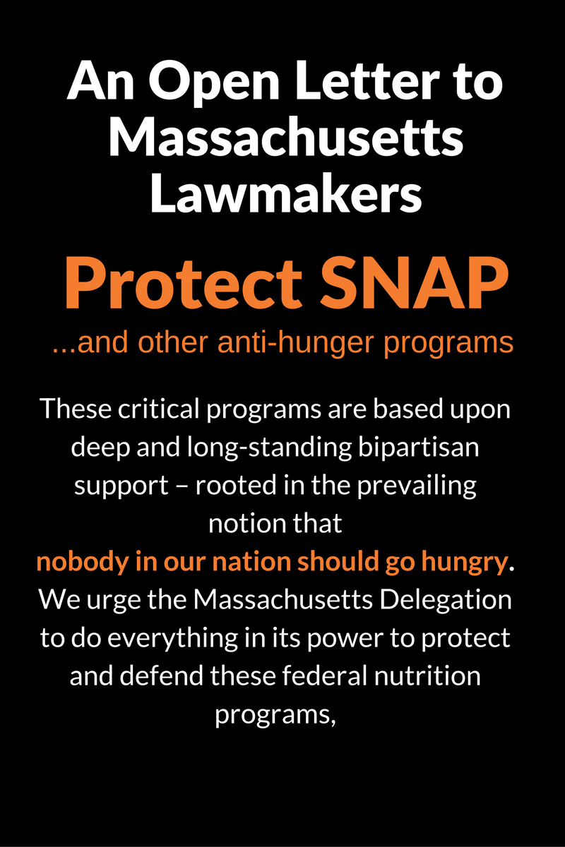 An Open Letter to Mass Lawmakers