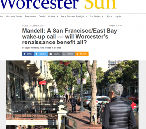 screenshot from Worcester Sun, Aug. 6, 2017 - Mandell Guest Post
