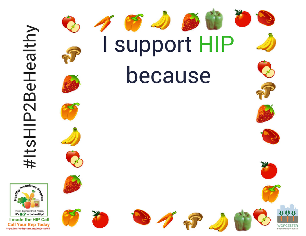I support HIP because