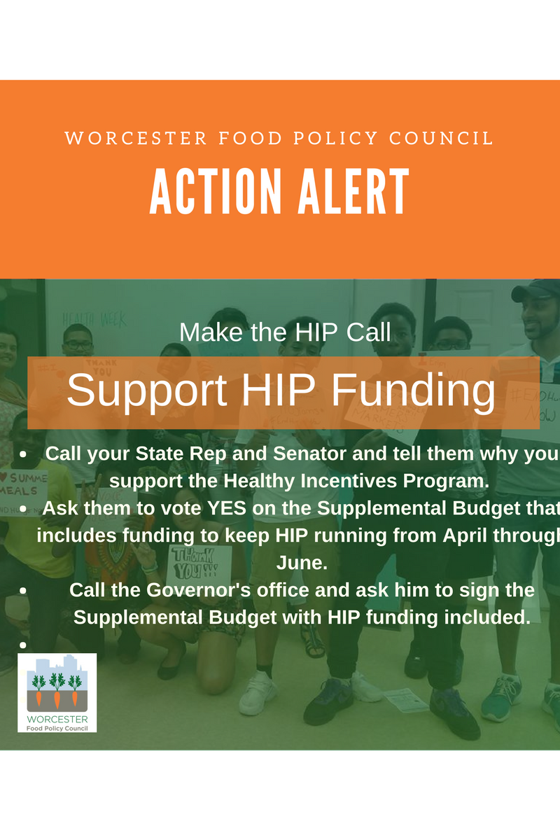 Support HIP funding