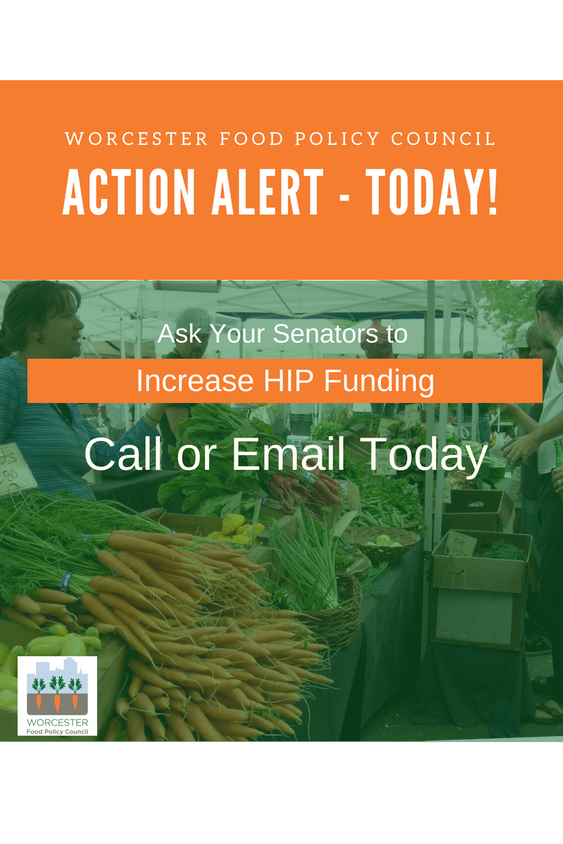 Action alert Ask your senators to increase HIP funding call or email today
