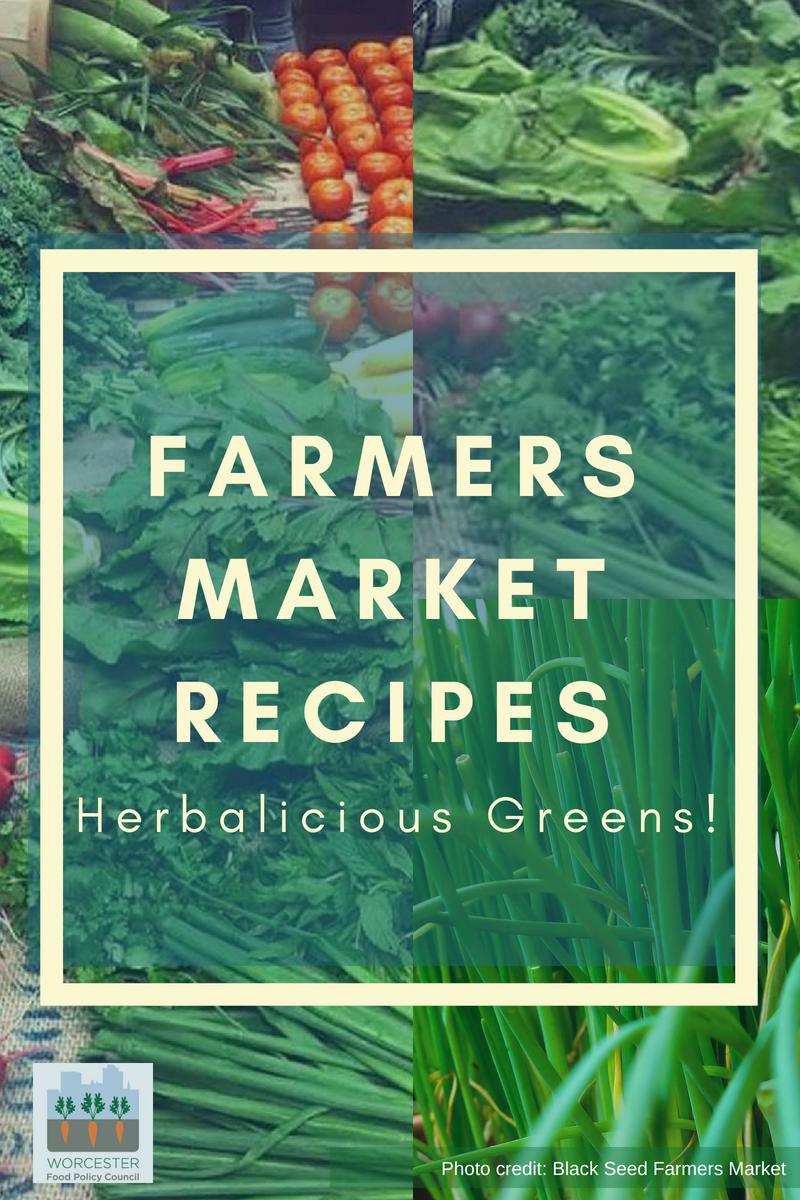 farmers market recipes – herbalicious