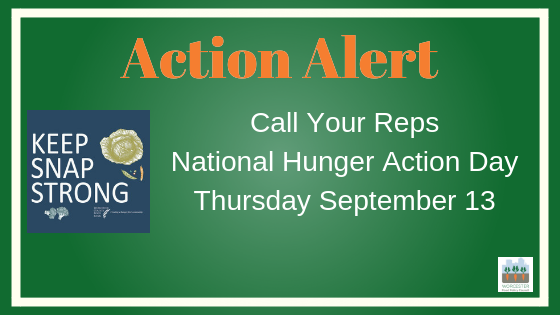 action alert hunger action day 2018