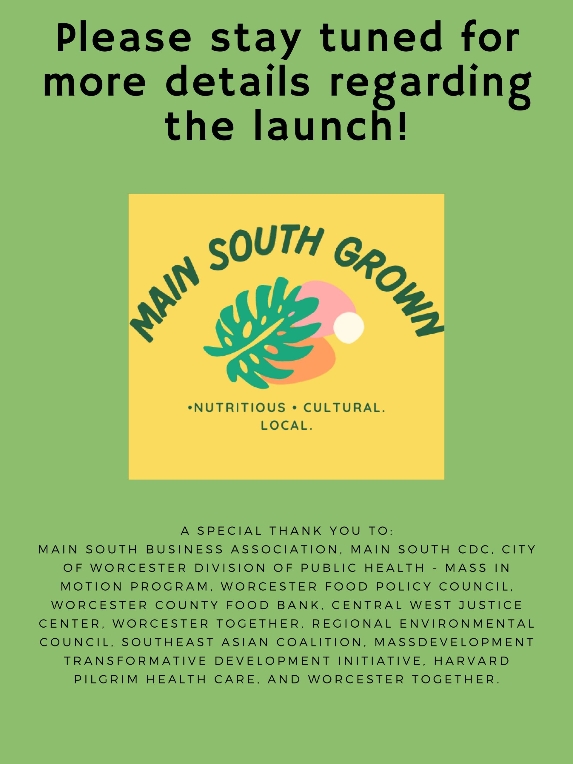 header image Main South Grown