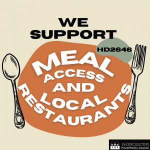 support restaurant meals program